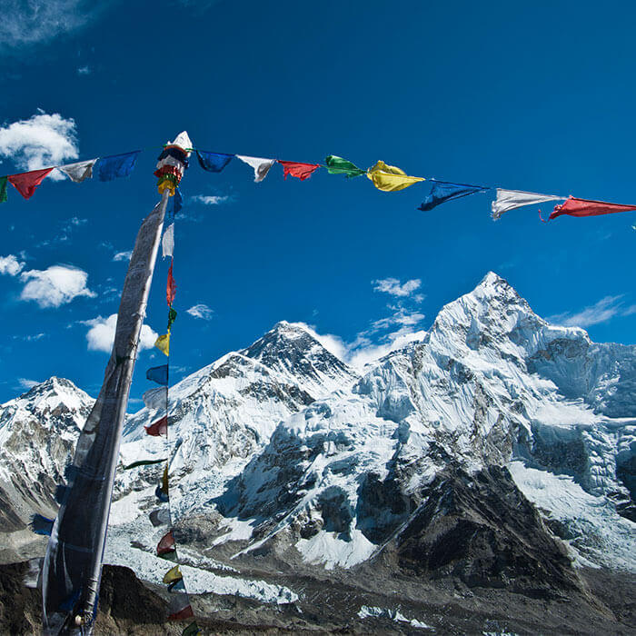 Mt Everest 8,848M