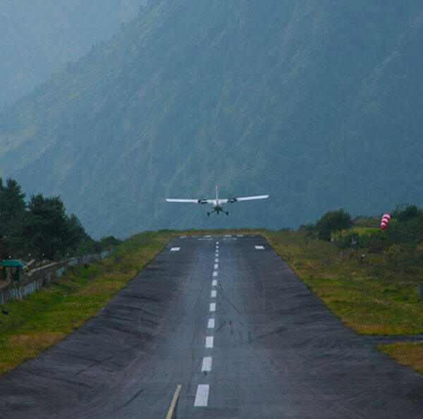 Tenzing-Hillary Airport at Lukla
